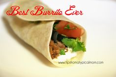 Mom Blog - Tips from a Typical Mom: Search results for best burritos
