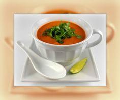 Kahakai Kitchen: Vitamix 10-Minute Thai Creamy Tomato Soup for Souper (Soup, Salad & Sammie) Sundays