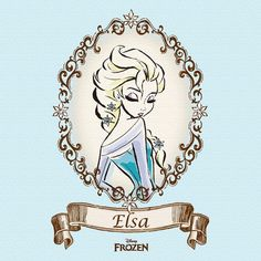 Elsa from Disney's Frozen Arte Disney, Disney Art, Disney Films, Disney And Dreamworks, Jack Frost, Disney Love, Disney Frozen, Princesa Elsa Frozen, Anna Und Elsa