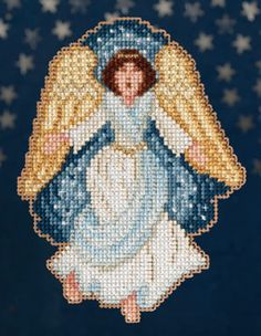 Mill Hill Nativity Gloria Christmas Ornament Cross Stitch Kit