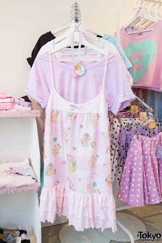 "fairy-tips: "" ☀ Summer Fairy Kei Inspiration ☀ image sources: milklim, @tokyo-fashion, KOTO, RID SNAP """