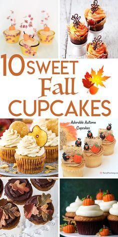 10 Sweet Cupcake Rec