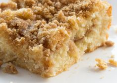 This Sour Cream Coffee Cake has been a family tradition for years. It makes the perfect coffee cake for your holiday breakfast or brunch. Delicious!