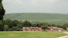 The serene setting for the Sanchi monastery  that emperor Ashoka set up in the 3rd century BC