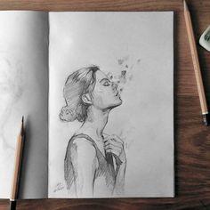 Sketchbook #face #portrait #figure #sketch #sketching #sketchbook #paper #pencil #draw #drawing #art #pencilsketch #pencildrawing #pencilart #miro_z #arts_help #beautifulbizarre #artcomplex #drawingthesoul #artist_4_shoutout #onyxkawai #artwhisper