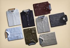 Time to get back to work... Time for SHIRTS! #jackandjonesme #shirts #men #style