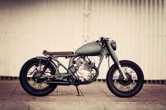 My bike - Honda CD125 bobber