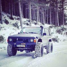 y60 on the snow