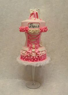 Paris Ballerina by Whimsy Cakes