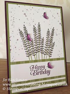 Jo-Jo's Crafty Blog: Flowering Fields...