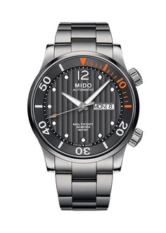 Basel Bargain Hunting: 7 New Watches Under $5,000 Mido Multifort Two Crowns Water Resistant to 200m with Day/Date at 3 o'clock $1220 MSRP