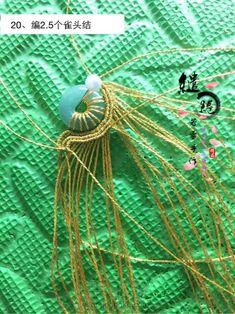 金线蜗牛锁骨链教程-手工客官网 Macrame