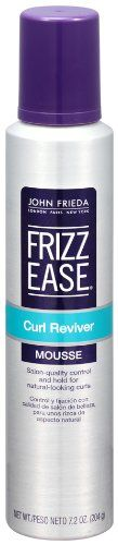 John Frieda Frizz Ease Curl Reviver Styling Mousse 72 Ounce * To view further for this item, visit the image link.Note:It is affiliate link to Amazon.