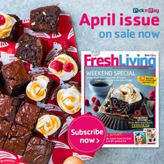 April #FreshLiving on Sale Now! Easter inspiration - food from Jerusalem, breads and a new look at eggs! #Easter #picknpay