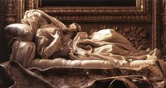 Foto: Gian Lorenzo Bernini (1598-1680): Scultura, Beata Ludovica Albertoni 1670(Roma, S. Francesco a Ripa).