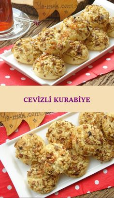 Kurabiye sevenler için hem ağızda dağılan hem de ceviz lezzetini ağzınız… For those who love cookies, you will feel the taste of walnuts in your mouth as well as a delicious cookie recipe … Delicious Cookie Recipes, Yummy Cookies, Pie Recipes, Great Recipes, Yummy Food, Recipe Ideas, Frozen Key Lime Pie, Baked Turkey Wings, Keylime Pie Recipe