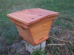 Make a SMALL top bar hive as a bee trap. Transfer the bars from the TRAP to the HIVE after the swarm establishes itself in the trap.