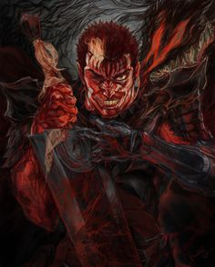 For fans of the manga Berserk and its adaptations. Manga Anime, Anime Art, Cowboy Bebop Tattoo, Hellsing Alucard, Heavy Metal, Old School Cartoons, Nichijou, Gothic Horror, Fan Art
