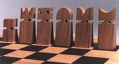 Original Chess Set Design Gallery