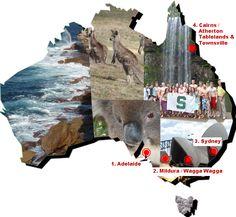 Australia and it's states