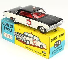 Learn everything there is to know about Matchbox at the hobbyDB database Metal Toys, Tin Toys, Oldsmobile 88, Miniature Cars, Corgi Toys, Vintage Packaging, Matchbox Cars, Diecast Models, Vintage Toys