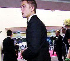 Robert Pattinson at The Rover premiere, Cannes Film Festival 5/18/14