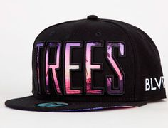 "BLVD SUPPLY ""Trees"" Snapback Cap"