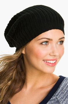 David   Young Slouchy Oversized Beanie available at  Nordstrom 7fd0947127c