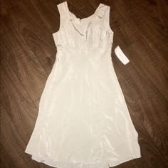 J. Crew 100% SILK party dress-SZ 4 NWT! Higher neck, back is lower. Ivory color! Great for a wedding! Please don't hesitate to submit a reasonable offer.  J. Crew Dresses