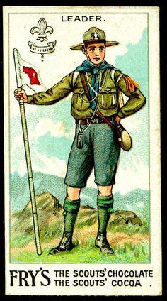 Tradecard - Boy Scout Leader by cigcardpix, via Flickr
