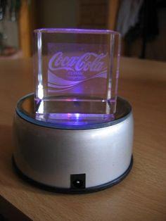 Coca-cola *@* Socle lumineux