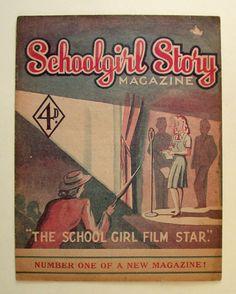 Schoolgirl story magazine: The school girl film star - The Bill Douglas Cinema Museum