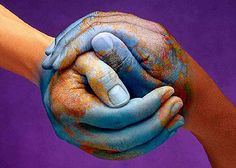 The whole world in your hands.