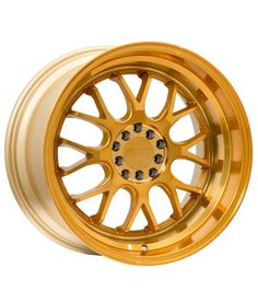 F1R F21 18x9.5 +35 5x100/5x114.3 Machined Gold