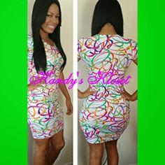 Circled Bodycon Dress