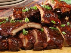 Spiced Coffee Rubbed Baby Back Ribs | All About Cuisines