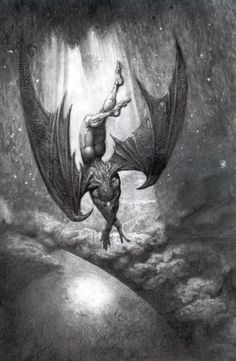 The Fall of Satan from Paradise: