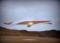 Take a Look at the Ferrari Spaceship - Digital Ramen