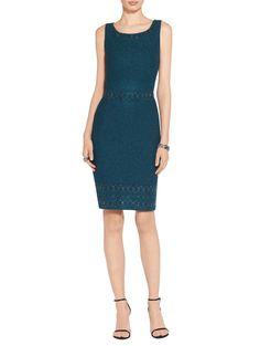 Vera Knit Scoop Neckline Dress