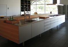 Bulthaup kitchen island cabinets