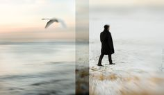 Diptych Photography : The Art Of Combining Two Images Photography Lessons, People Photography, Art Photography, Digital Photography, Its A Mans World, Triptych, Double Exposure, Art Google, Photo Art