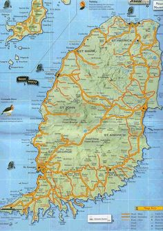 Grenada Grenada Pinterest - Grenada maps with countries