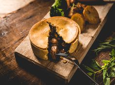 Tasty food shoot for GreenTomatoFoods. #pie