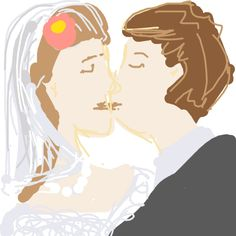 Wedding - sealed with a kiss