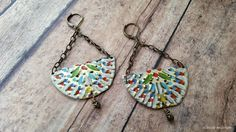 Upcycled Boho Style Tin Earrings by EclecticRedesigns on Etsy Tea Tins, Tin Boxes, Magpie, Vintage Tea, Etsy Earrings, Boho Style, Boho Fashion, Upcycle, Designers