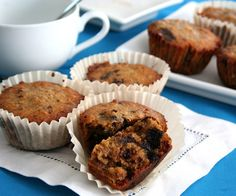 Chocolate Pecan Pie Muffins (low carb and gluten-free) http://alldayidreamaboutfood.com/2012/10/chocolate-pecan-pie-muffins-low-carb-and-gluten-free.html