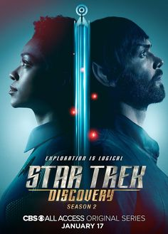 221 of 606 Ethan Peck and Sonequa Martin-Green in Star Trek: Discovery Titles: Star Trek: Discovery, Light and Shadows People: Ethan Peck, Sonequa Martin-Green Countries: United States Languages: English Star Trek News, Star Trek Spock, Star Trek Tv, Star Wars, Star Trek Poster, Discovery 2017, Uss Discovery, Sonequa Martin Green, Star Trek Tattoo