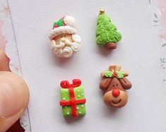 Boucles d'oreilles Noël ensemble boucles d'oreilles - Boucles d'oreilles Santa - nouveauté Stud boucles d'oreilles - Rudolph renne - Noël - boucles d'oreilles les filles