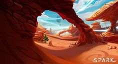 Project Spark [fan blog]: Desert concept art