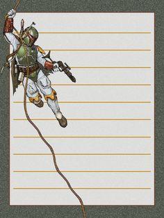 Journal Card - Star Wars - Boba Fett - lines - 3x4 photo pz_719_DIS_StarWars_BobaFett_lines_3x4.jpg